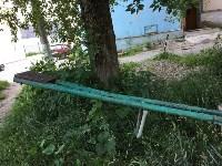 Аварийная детская площадка на Косой Горе, Фото: 5