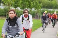 В Туле прошел большой велопарад, Фото: 118