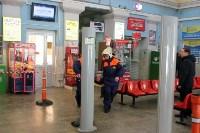 Учения МЧС на автовокзале. 18 февраля 2016 года, Фото: 2