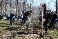 Посадка деревьев в Комсомольском парке, Фото: 36