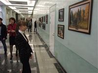 В Госдуме открылась выставка «В.Д. Поленов и ученики», Фото: 2