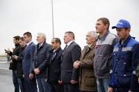 В Суворовском районе  введен в эксплуатацию участок автодороги «Калуга-Перемышль-Белёв-Орёл», Фото: 11