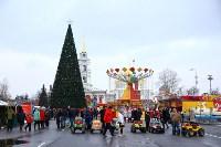 Арт-объекты на площади Ленина, 5.01.2015, Фото: 49