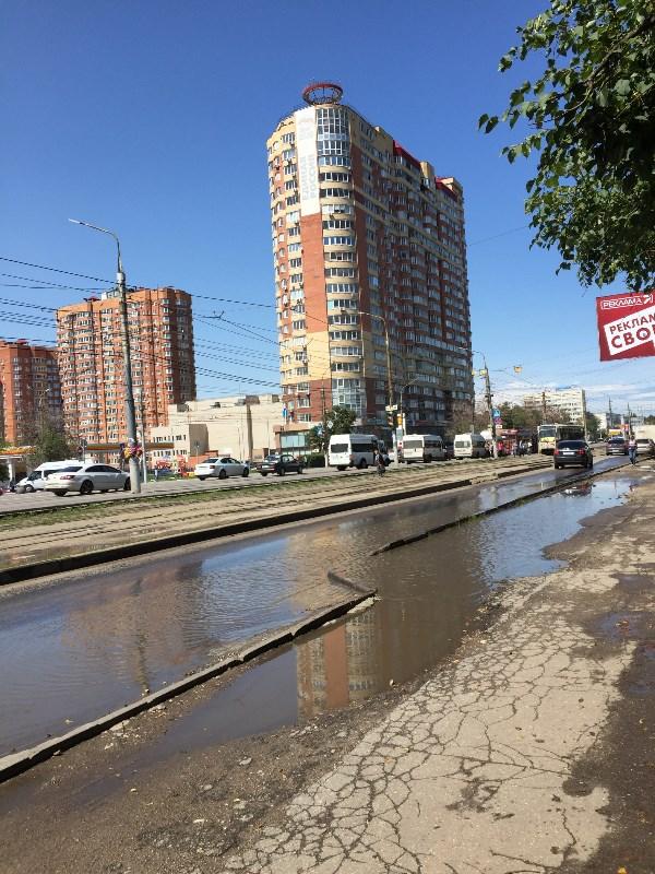 Тула, проспект Ленина, лето