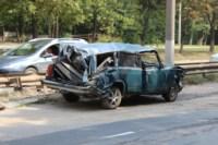 На Рязанке столкнулись две легковушки и грузовик, Фото: 1