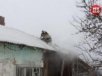 Пожар в пос. Петровский 20.02.19, Фото: 5