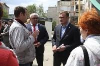 Алексей Дюмин проинспектировал работы по восстановлению дома в Ясногорске, Фото: 15
