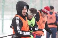 «Арсенал» готовится на снежном поле к игре против «Тосно», Фото: 15