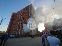 Пожар в общежитии на ул. Фучика, Фото: 14