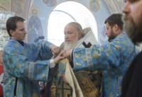 Божественная литургия в храме Сергия Радонежского, Фото: 12