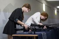 В двух образовательных центрах начали работу стрелковые тиры, Фото: 15
