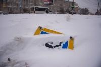 Снегопад в Туле. 19 января 2016 года, Фото: 21