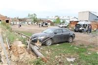 Последствия урагана в Ефремове., Фото: 7