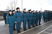 Тульские спасатели дали военную присягу, Фото: 2