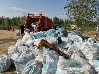 В Кондуках прошла акция «Вода России»: собрали более 500 мешков мусора, Фото: 28