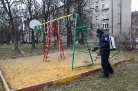 Дезинфекция в Пролетарском округе Тулы, Фото: 30