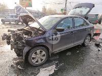На Щекинском шоссе в Туле произошло тройное ДТП, Фото: 4
