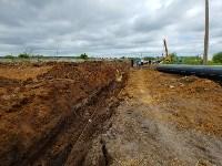 В Туле меняют аварийный участок трубы, из-за которого отключали воду в Пролетарском округе, Фото: 23