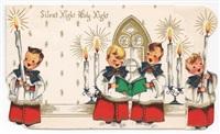 Старинные рождественские открытки, Фото: 33