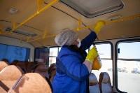 Как в Туле дезинфицируют маршрутки и автобусы, Фото: 35