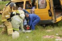 Авария на трассе Тула-Калуга. 04.07.2014, Фото: 22