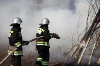 В Белевском районе провели учения по тушению лесных пожаров, Фото: 2