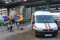 В Новомосковске произошел пожар на химпредприятии: есть пострадавший, Фото: 6