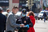 Полицейский рейд в тульских маршрутках: на пассажиров без масок составляют протоколы, Фото: 34