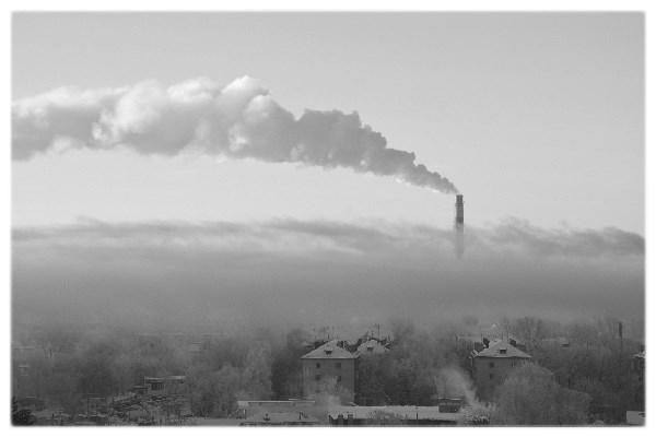 Дым на небе, дым на земле...