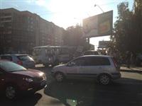 """В Туле """"восемнадцатый"""" """"ПАЗ"""" протаранил """"УАЗ-Патриот"""", Фото: 2"""