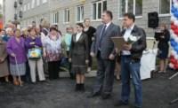 Вручение ключей от новых квартир переселенцев из аварийного жилья в Донском, Фото: 4