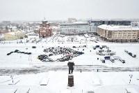 Автофлешмоб на площади Ленина в честь Дня памяти жертв ДТП, Фото: 27