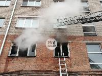 На улице Металлургов в Туле загорелась квартира , Фото: 6