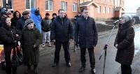 Кимовские новоселы получили ключи из рук губернатора Владимира Груздева, Фото: 12