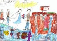 Шишова Софья, 7 лет «Создание семьи. Начало начал», Фото: 9