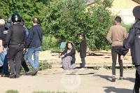 В Плеханово вновь сносят незаконные дома цыган, Фото: 13
