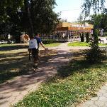 В Туле продезинфицировали автобусы, остановки, подъезды и детские площадки, Фото: 2