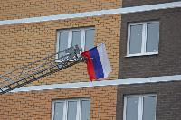 Тульские пожарные провели соревнования по бегу на 22-этаж, Фото: 2