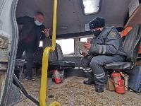 Проверка транспорта в Новомосковске, Фото: 5