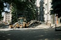В Туле началось благоустройство скверов и дворов, Фото: 13