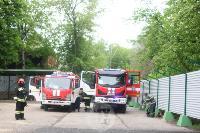 В Туле сотрудники МЧС эвакуировали госпитали госпиталь для больных коронавирусом, Фото: 60