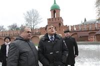 Осмотр кремля. 2 декабря 2013, Фото: 4