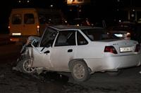 На ул. Металлургов в Туле лоб в лоб столкнулись две Daewoo, Фото: 13