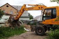 В Плеханово продолжается снос незаконных цыганских построек, Фото: 35