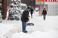 Последствия снежного циклона в Туле, Фото: 30