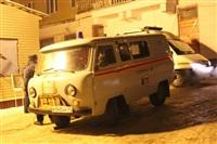 Порыв отопления в Ефремове, 22.01.2014, Фото: 1