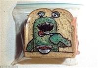 Рисунки на сэндвичах, Фото: 5
