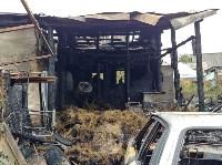 Пожар и обыск на ул. Судейского, Фото: 6