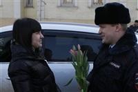 Полицейские поздравили автоледи с 8 Марта, Фото: 5
