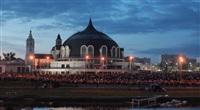 Шоу фонтанов на Упе. 9 мая 2014 года., Фото: 15